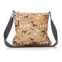 Shruti | Dogs Life Sling Bag | Mustard | 29x26cm