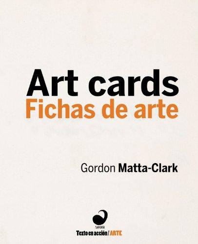 Art Cards/Fichas de Arte (Text in Action)