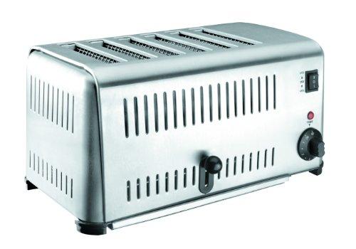 Lacor 69296 Buffet-Toaster für 6 Brotscheiben 3240 W
