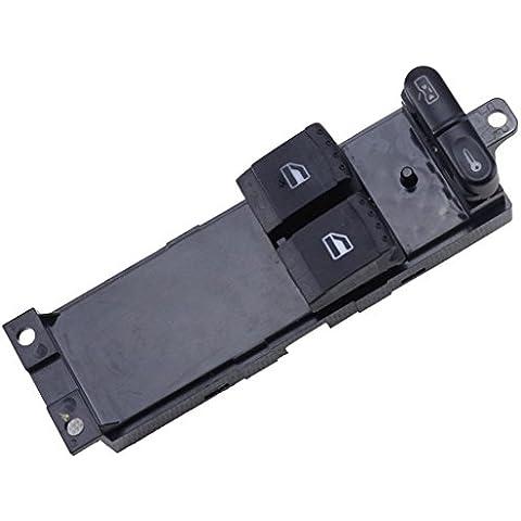 SENGEAR - Interruptor de la Ventana Elevaluna del Coche para Volkswagen VW Golf Mk4 Modelo de 2 puertas lado Conductor 1J3959857 (1999-2006)