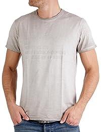 MASONS Herren T-Shirt Cuba Vintage Beige 2FT2173NP Größe S