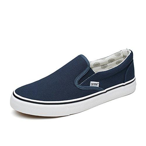 Chaussures avec une pédale/Chaussures paresseux/female coréennes shoes/Hommes chaussures de toile/Chaussure summer trends un couple de chaussures D