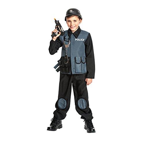 Kostümplanet® Polizei-Kostüm Kinder Special Police Karnevals-Verkleidung Polizist Größe (Polizei Kleinkind Kostüme)