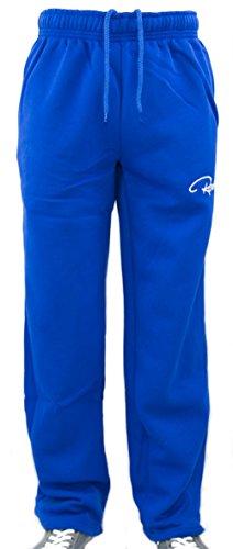 Redrum Plain Trainingshose Jogginghose sweatpants fitness Sport streetwear (L, RoyalBlau)