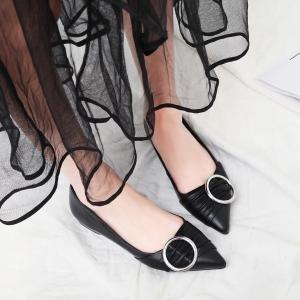 hexiaji 22cm-25ccmfemme chaussure à haut talon chausson noir rouge blanc Noir