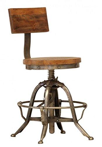 casa-padrino-designer-vintage-industrial-stuhl-sitzhocker-mit-lehne-industrie-design