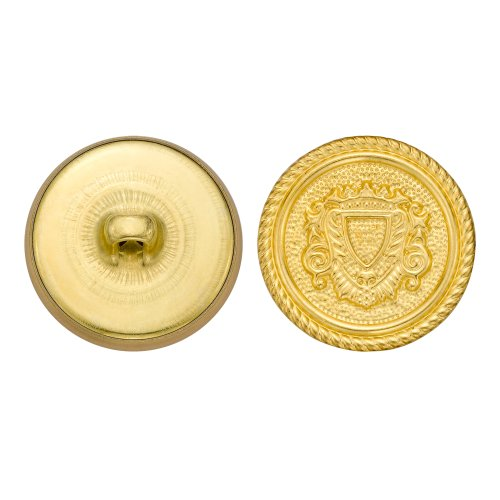 Colonial Nickel Finish Size 40 36-Piece C/&C Metal Products Corp 5001 Flat Metal Button