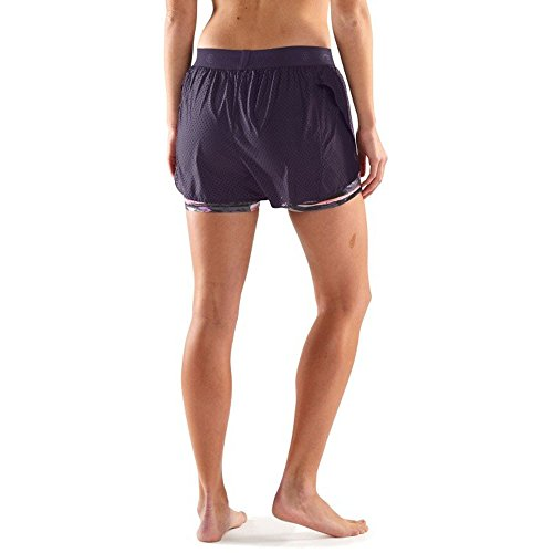 Skins DNAmic Women's Superpose Kompression Sackartige Shorts - SS17 Purple