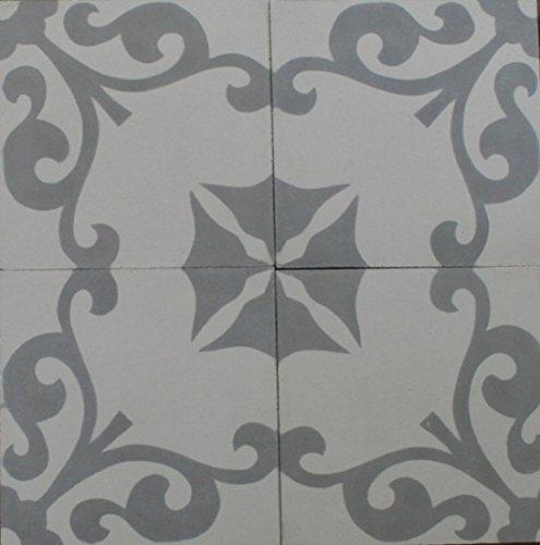 4 Zementfliesen Karina 4301 Fliesen Bodenfliesen Mosaikfliesen