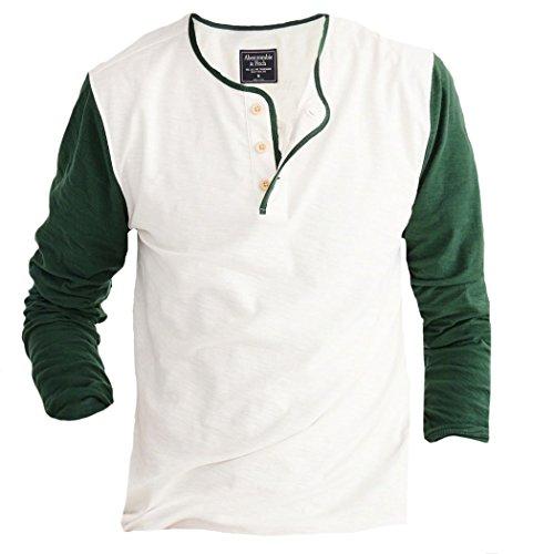 abercrombie-herren-baseball-henley-langarmshirt-t-shirt-grosse-large-grun-625592755