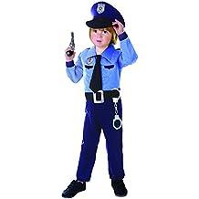 immagini dettagliate nuova versione prevalente costume poliziotto bambino - 2 stelle e più - Amazon.it