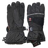 Thermrup Beheizbare Handschuhe mit 4 Stufen Temperaturregler, wasserabweichend atmungsaktive mit Thinsulate 3M, Akkubetrieb (L) - 2