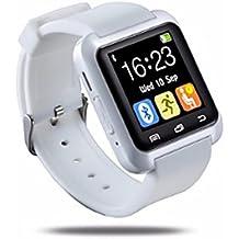 PDFGO Blue Tooth Smart Reloj U80 BT-notificación Anti-Lost MTK WristWatch Para IOS Teléfono Android,White
