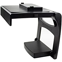 Xbox One TV Mounting Clip - Black Plastic Adjustable Sensor Camera TV Clip Monitor Mount Dock Holder Stand Bracket for Microsoft Xbox One Kinect 2.0 [Xbox One]
