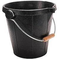 Kanguro English - Cubo de goma, color negro, tamaño M