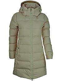 Puma FD Cat Down Jacket Women Down Coat Hooded Winter Jacket Beige