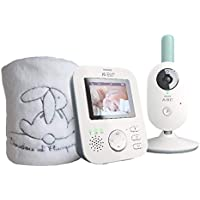 Philips Avent Babyphone vidéo  + Plaid Brodé