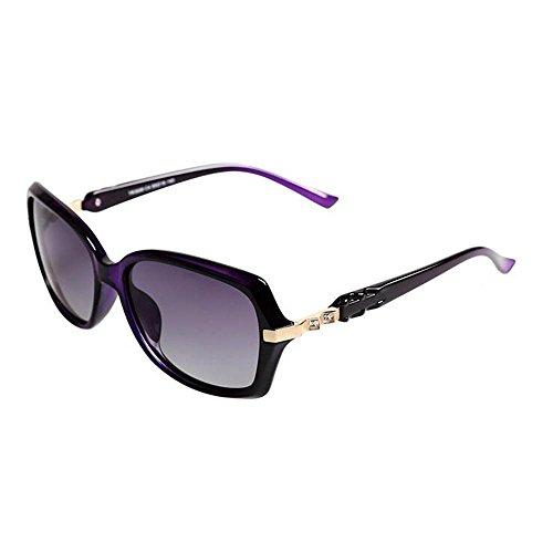 Sonnenbrillen Kleine Box Sonnenbrille Weibliche Mode-Diamant Anti-UV-vorzügliche Retro- kleine Wesen rundes Gesicht war dünn Sonnenbrillen Schütze Deine Augen (Farbe : A)