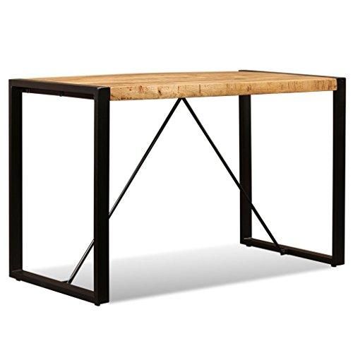 vidaXL Esszimmertisch Vintage Mangoholz 120cm Esstisch Küchentisch Holztisch
