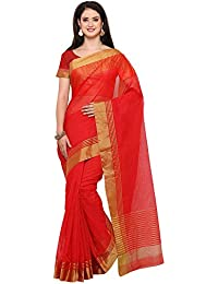 Saree Mall Women's Art Silk Saree With Blouse Piece (sarees New Collection 2RGO2015_Red)