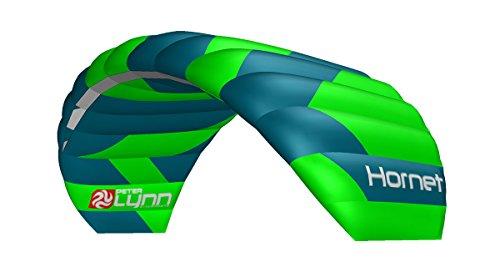 Lenkmatte Peter Lynn Hornet 6.0 mit Handles Allround-Lenkdrachen 4-Line Powerkite für Kitebuggy