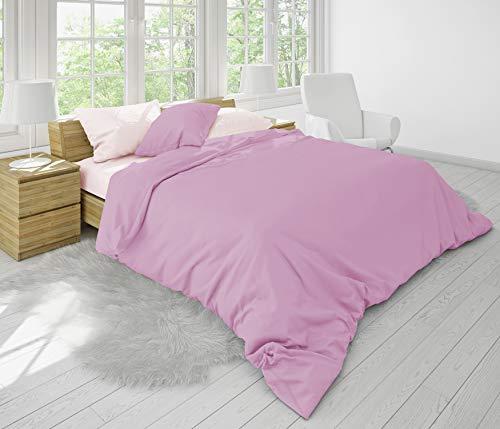 Love Bedtime Malve Mist Bettwäsche-Set aus Bambus, 6-teilig, Bambus, Mauve Mist, Doppelbett -