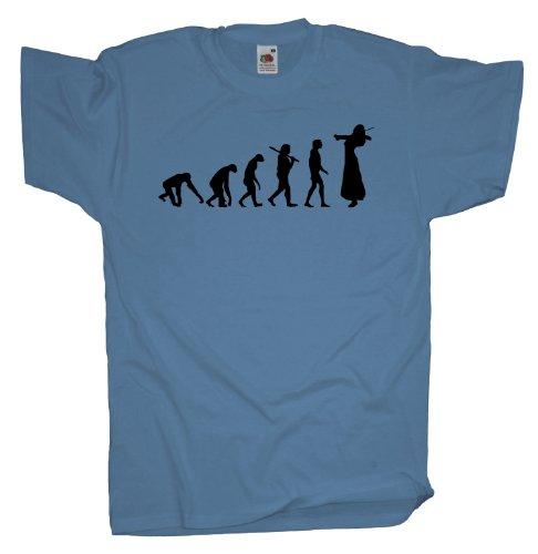 Ma2ca - Evolution - Violinistin T-Shirt-skyblue-m
