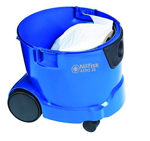 Nilfisk-AERO-26-2L-PC-Aspiradora-1500-W-16-A-5060-Aspiradora-de-tambor-25-L-Negro-Azul