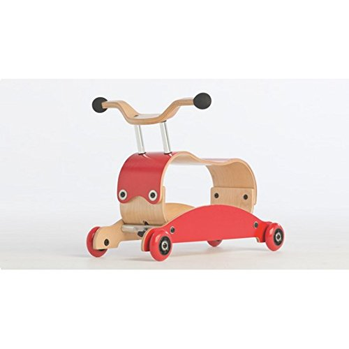 Preisvergleich Produktbild Wishbonebike Loopfiets Flip Rood Klein