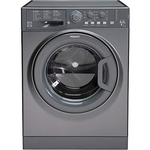 HOTPOINT FDL 9640 G Washer Dryer - Graphite