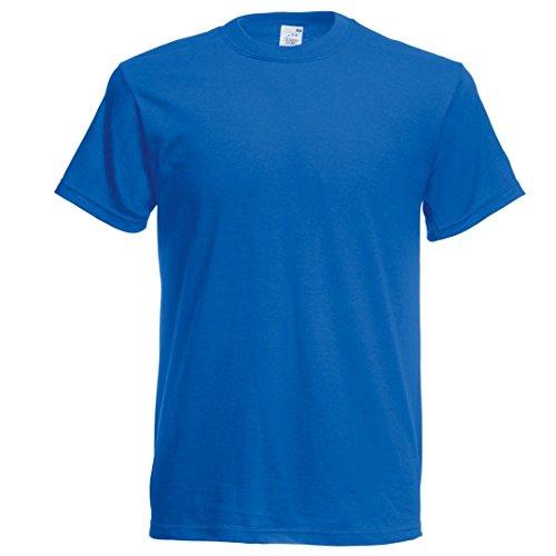 Fruit of the Loom Original t-shirt Azurblau Blau