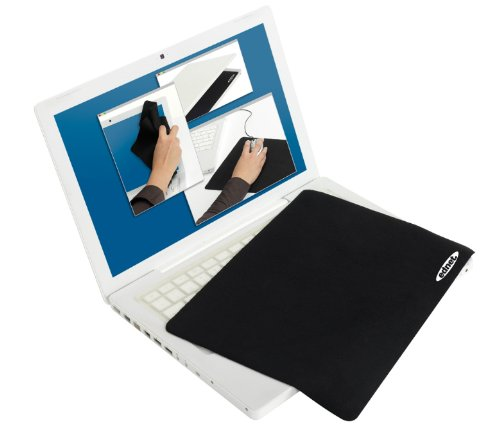 Ednet 3 in 1 Netbook Protector Pad (10,2 Zoll) 200*135mm Mousepad schwarz