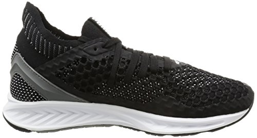 Puma Ignite Netfit, Scarpe Sportive Outdoor Uomo Nero (Black-quiet Shade-white)