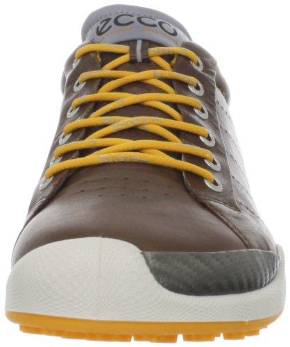 ECCO 2013 Biom Hybrid Chaussures Homme confortables, performantes et imperméables Cocoa Brown/Fanta