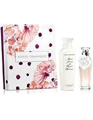 Adolfo Dominguez Agua Fresca Rosas Blancas Set d'Eau de Toilette + Lotion Corporelle + Trousse 420 ml