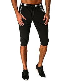 MODCHOK Uomo Pantaloncini Sportivi Bermuda Jogging Tasche Sportivo Casuale  Cordone 704285a955e