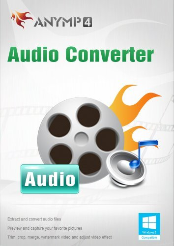 AnyMP4 Audio Converter Lifetime - Video/Audio in Audioformate wie MP3, WAV, WMA, ALAC, M4A usw. umwandeln [Download] M4a Audio