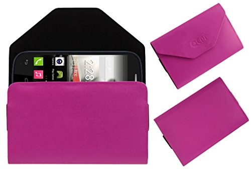 Acm Premium Pouch Case For Panasonic T31 Flip Flap Cover Holder Pink  available at amazon for Rs.179