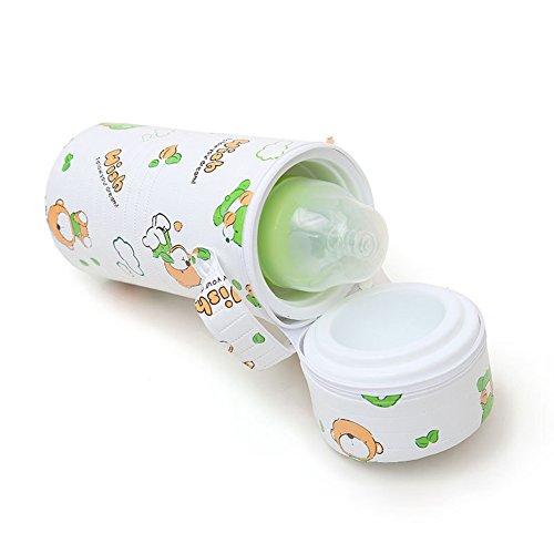 Homesave Portable Baby Flaschenwärmer, Wiederverwendbar, Single Doppel, Zufällige Farbe,Single