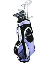 GolfGirl FWS2 Golf Komplettset für Damen Golfschläger und Golfbag