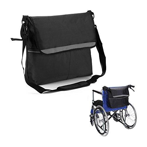 NEPPT Rollstuhltasche mit Armlehne, Netz-Aufbewahrung, passend für die meisten Roller, Rollatoren, Elektro-Rollstühle und manuelle Rollstühle mit elektrischer Unterstützung\n