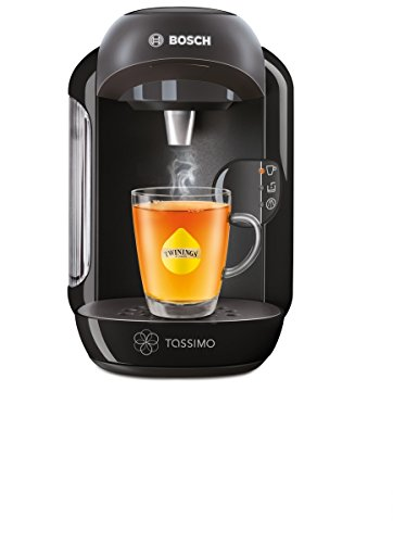 Bosch Tassimo Vivy Hot Drinks and Coffee Machine, 1300 W – Black