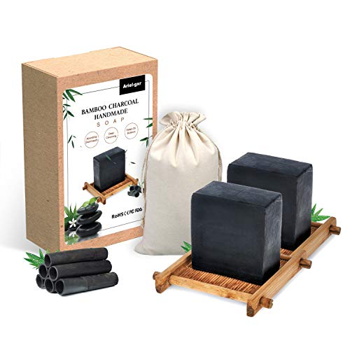 Jabón Carbón de Bambú