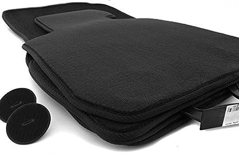 Tapis de sol pour bMW série 1 f20 f21 f22 produit 4.teilig tapis en velours noir