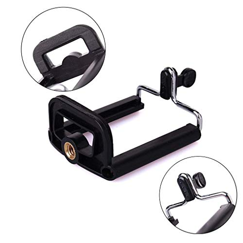 Azacus Camera Stand Clip Bracket Holder Tripod Monopod Mount Adapter for Mobile Phone