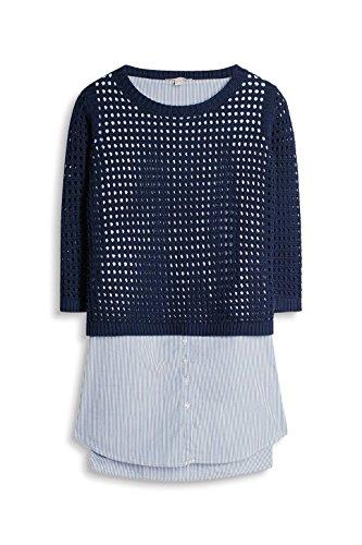 ESPRIT Damen Pullover Mehrfarbig (Navy 400)