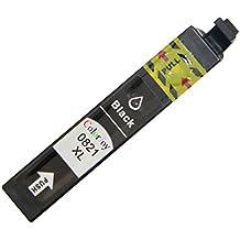 ColorJoy Compatible Epson T0821N T0822N T0823N T0824N T0825N T0826N Cartucho de tinta Compatible con Stylus Photo T50, R290, 390, RX590, 610, 690, TX650, 700W, 710W, 800FW, 810FW Artisan 635, 725, 730, 835, 837(negro)