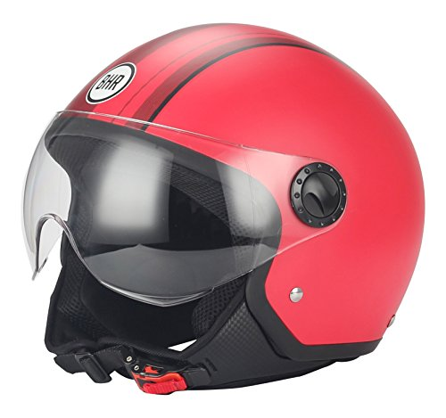 BHR 22059 Casco Moto Demi-Jet Linea One 801