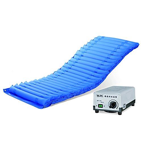 Byjia Bett-Luft-Matratzen-Hauptälteres Aufblasbares Bett-Auflage Gelähmte Krankenpflege Mit Pumpe, QDC-300