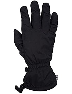 Mountain Warehouse Guantes impermeables Classic para hombre Negro Large